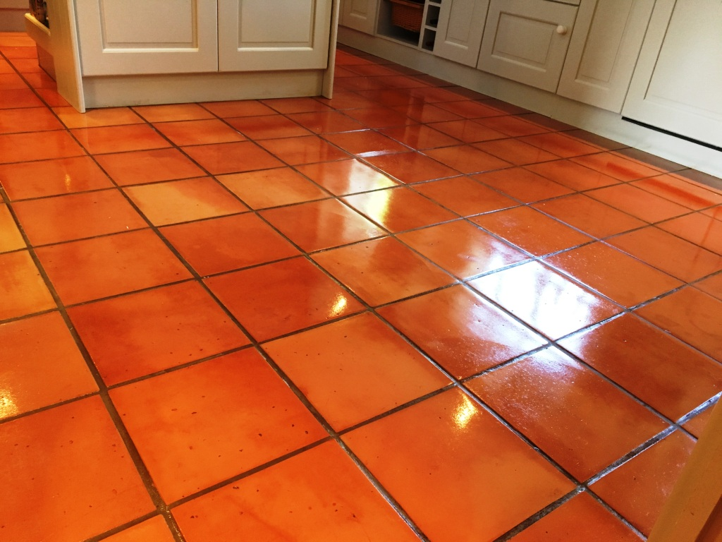 Terracotta Cleaning Tile