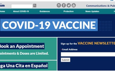 County of Los Angeles Public Health – COVID19 Vaccine Updates