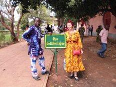 Auf dem Campus der Universität gibt es eine Rue d'Allemagne, ein Zeichen für die gute Kooperation zwischen den beiden Ländern.