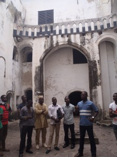 Visit of Elmina Castle. I picture by: Nina Paarmann