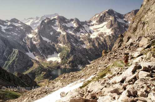 Colle del Chiapous - 2.526 m - Foto: © Wolfram Mikuteit