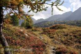 Im unteren Teil des Wegabschnitts. Der Colle della Crocetta ist bereits, wenn auch noch in der Ferne, bereits in Sicht. Foto: © Wolfram Mikuteit