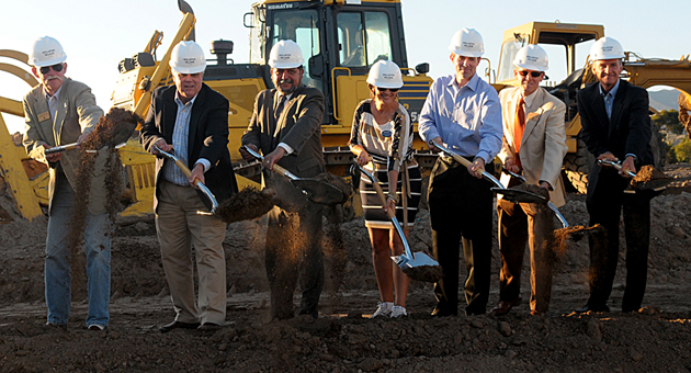 Goleta Officials Break Ground on Westar Housing/Retail Development
