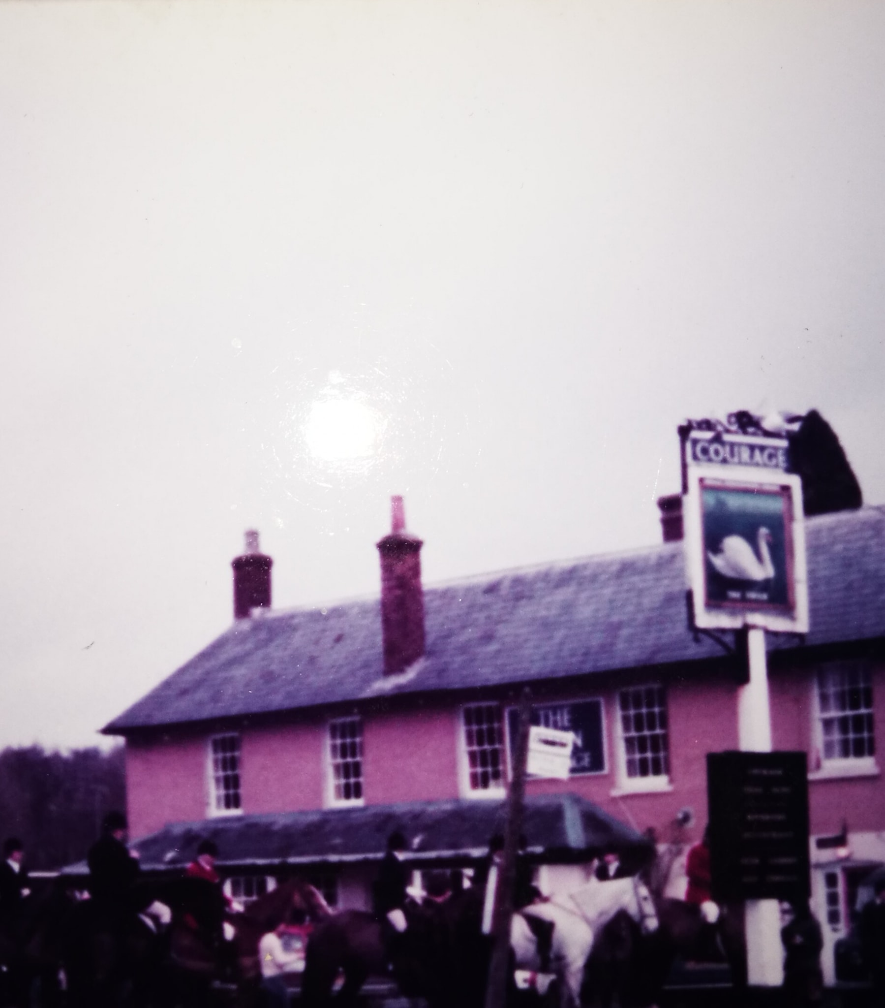 The Swan @ Great Shefford by kind permission of  Barbara Herbert