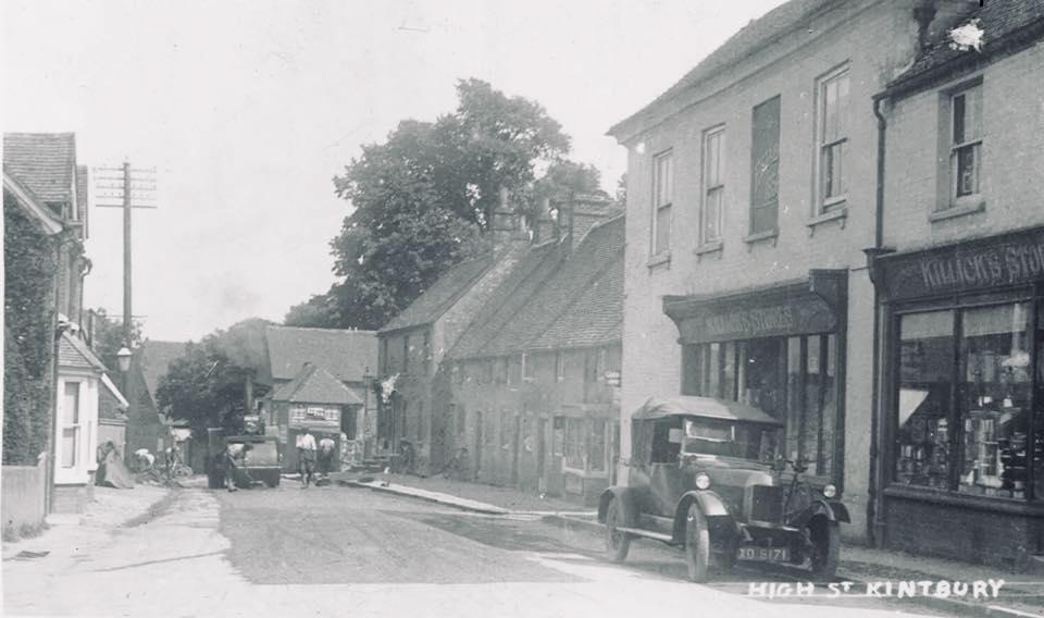 High street Kintbury 1920s