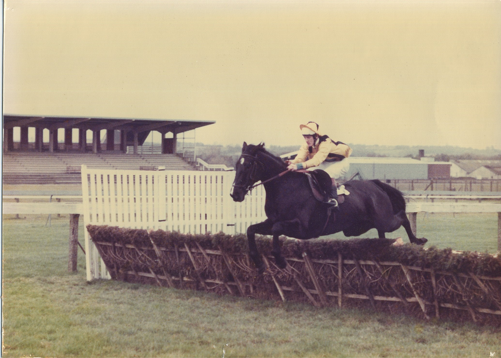 Glenn's first ever ride on Dusky M in 1979