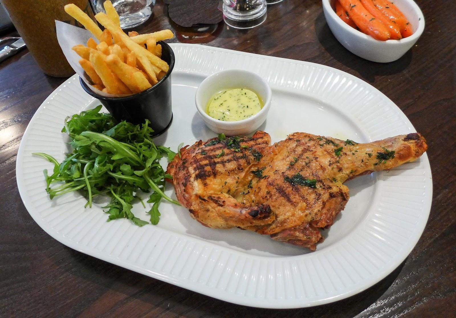 5 Half chargrilled Breton chicken