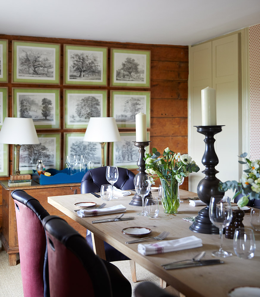 The Pheasant, Private Dinning