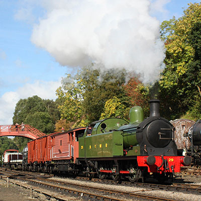 Bank Holiday Steam Up
