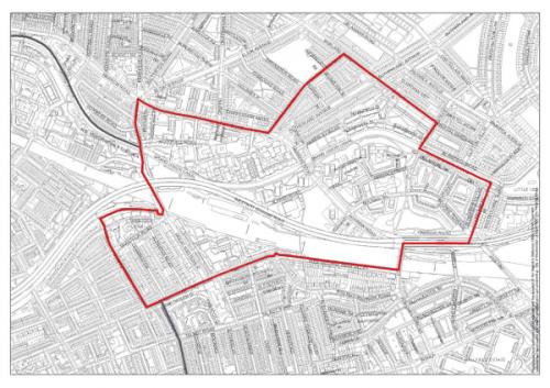 Westbourne Designation Map