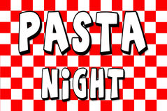 Pasta Night ad