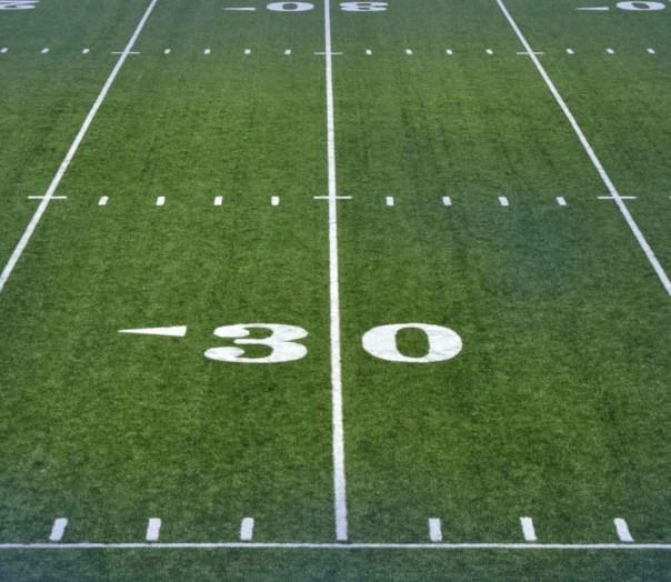 Artificial Turf football-field