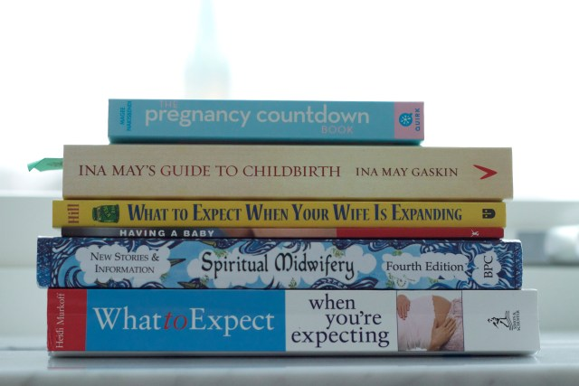 our reading pile