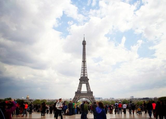 Trocadero, Eiffel Tower, Paris, France