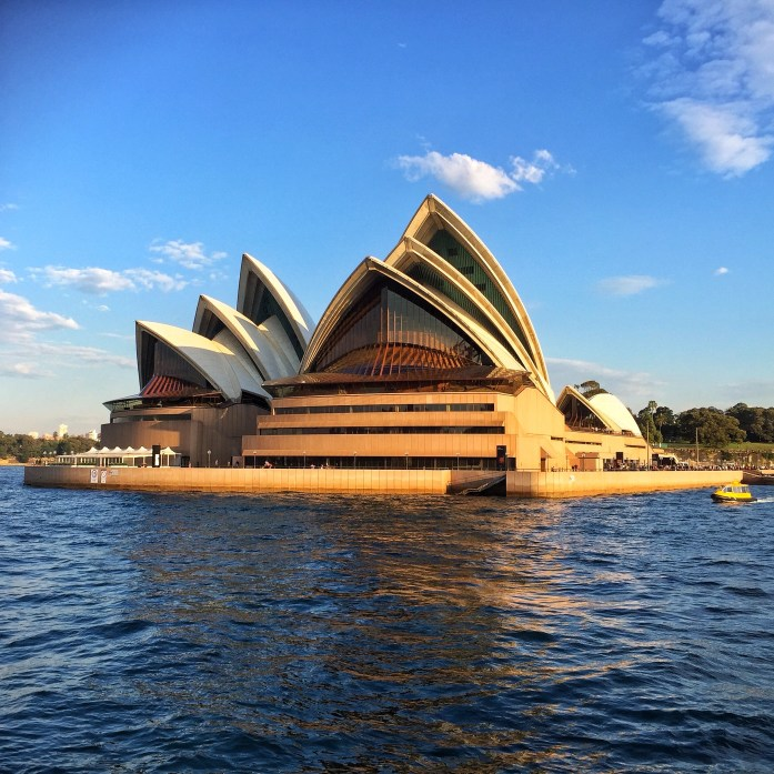 Opera House from Ferry 2