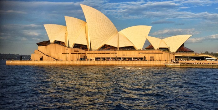 Opera House from Ferry 3