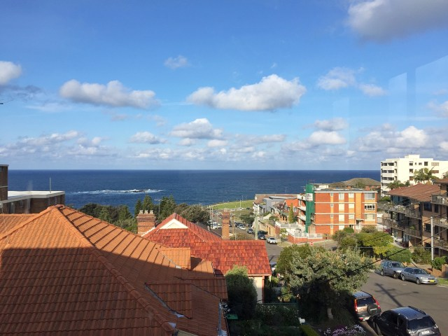 Coogee Beach Airbnb View