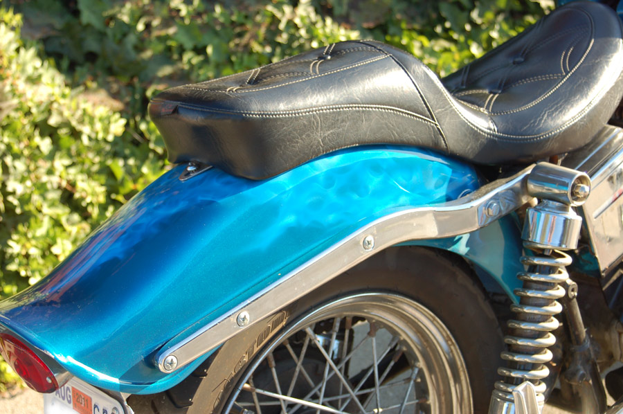 Blue Ghost Flames Motorcycles