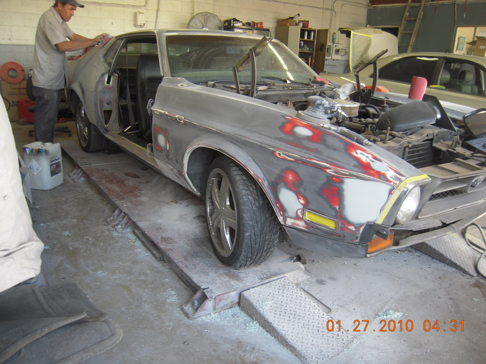 west-coast-body-and-paint-1971-mustang-mach-1-gray-21