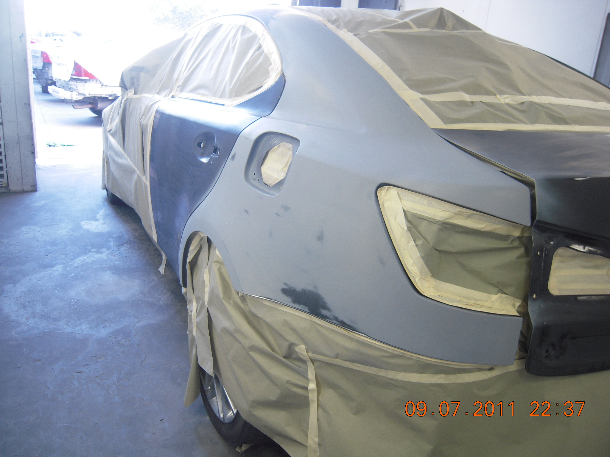 west coast body and paint black lexus is250 2   WEST COAST BODY AND     west coast body and paint black lexus is250 2