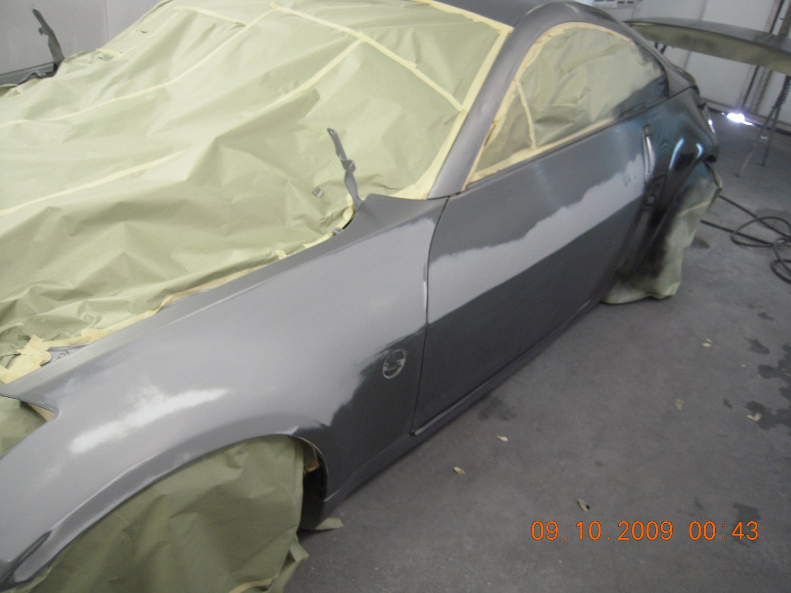 west-coast-body-and-paint-flat-black-nissan-350z-9