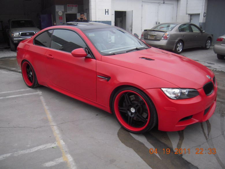 West-Coast-Body-And-Paint-Red-2008-BMW-M3-Matte (16)