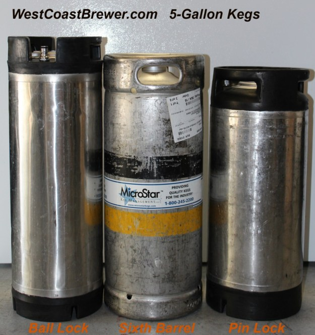 Different Types of 5 Gallon Beer Kegs