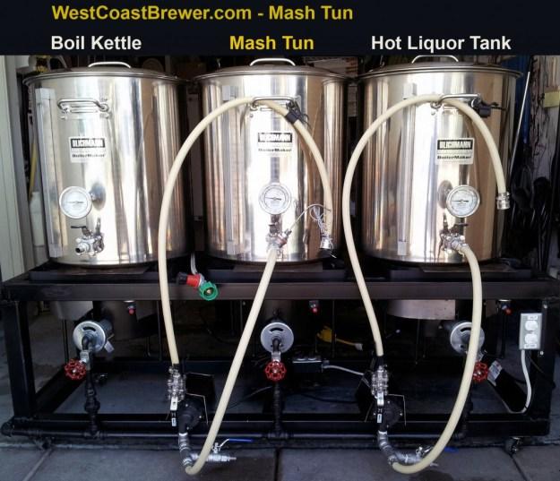 Photo of a home brewing Mash Tun.