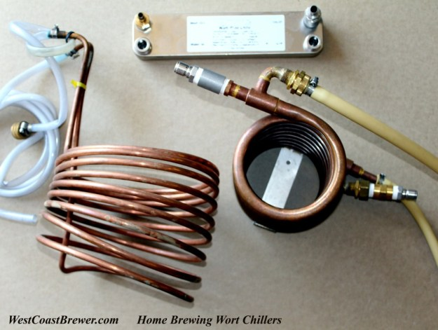 Home Brewing Wort Chiller