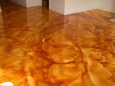 Metallic Floor