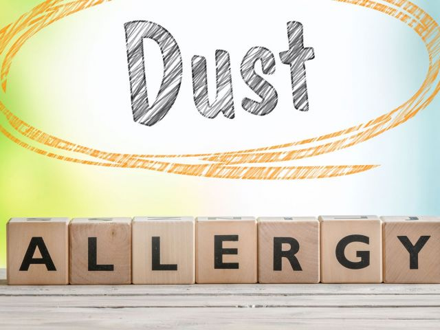 Concrete Dust Allergy