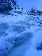 Mid-height ice on The Plum (Jan 3)