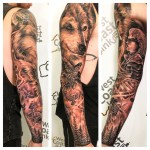 Viking theme Full sleeve