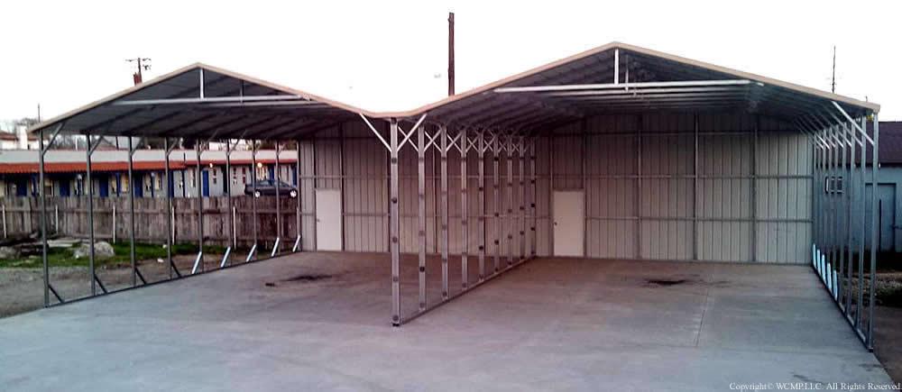 West Coast Metal Buildings Custom Carport C Carports