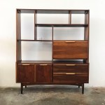 Mid Century Wall Unit Room Divider