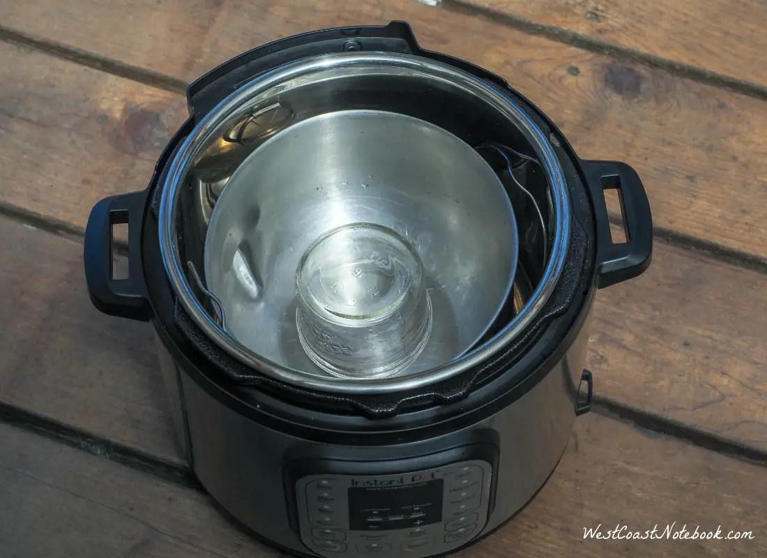 Add in a half pint canning jar