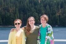 Your Leg 2 coordinators: Katie Douglas, Spencer Showalter, and Meghan Shea....