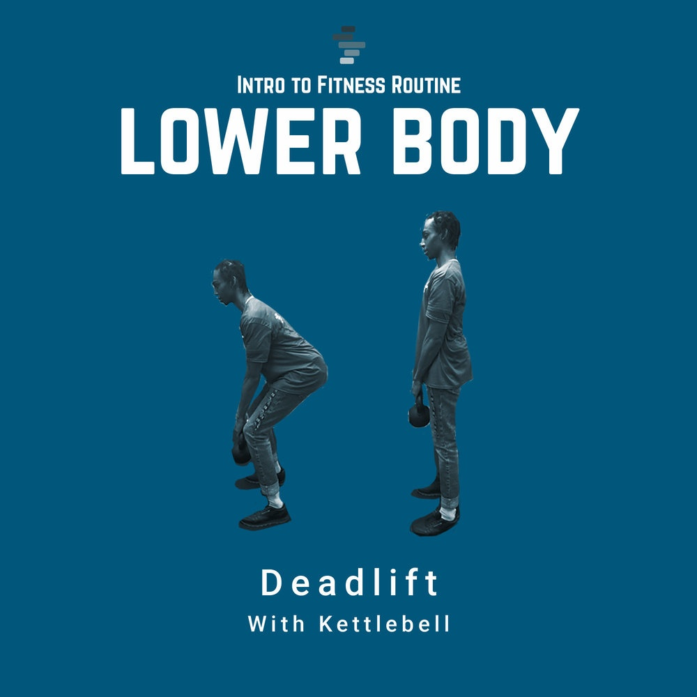 Deadlifts with Kettleball