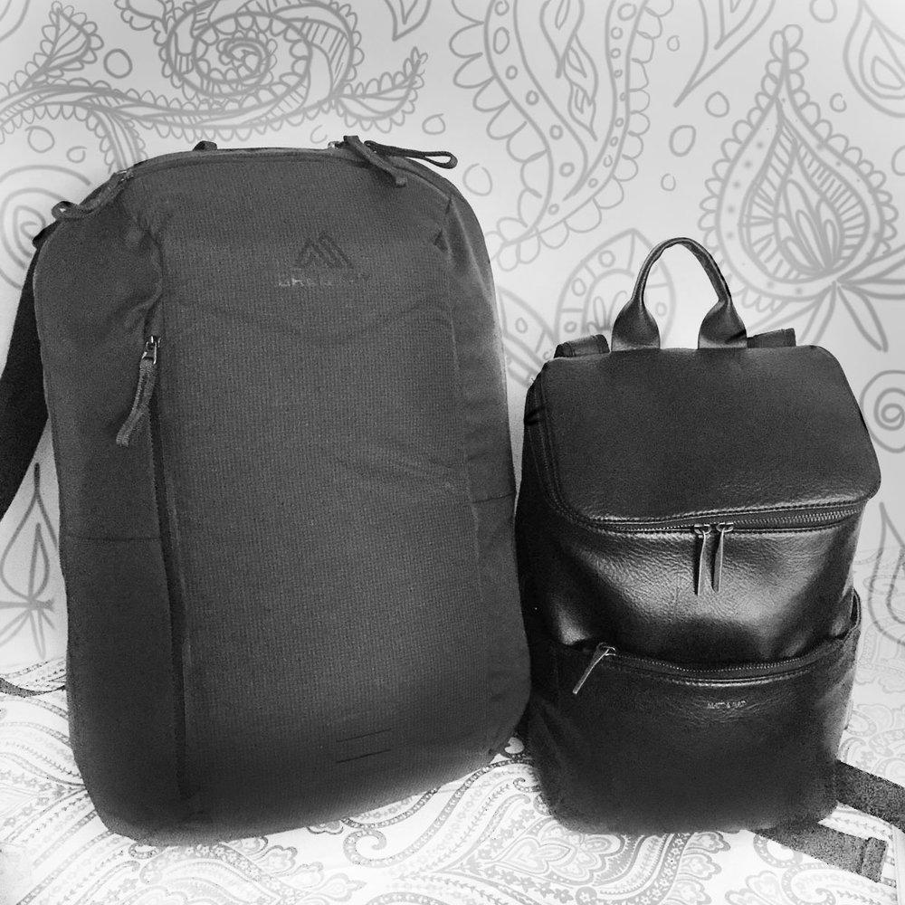 Amy's backpacks