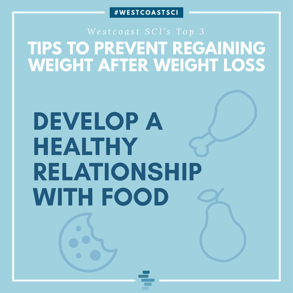 Develop a healthy relationship with food