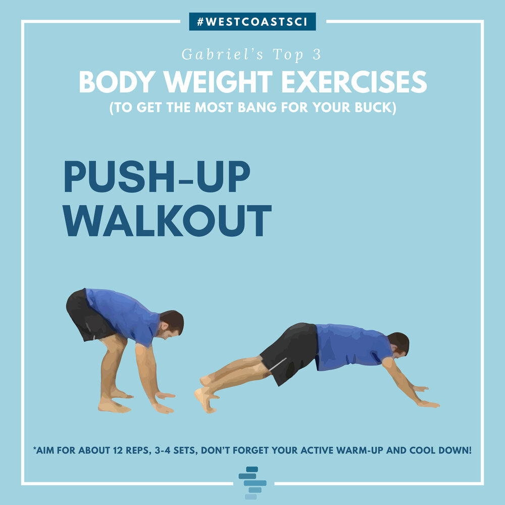 Push Up Walkout