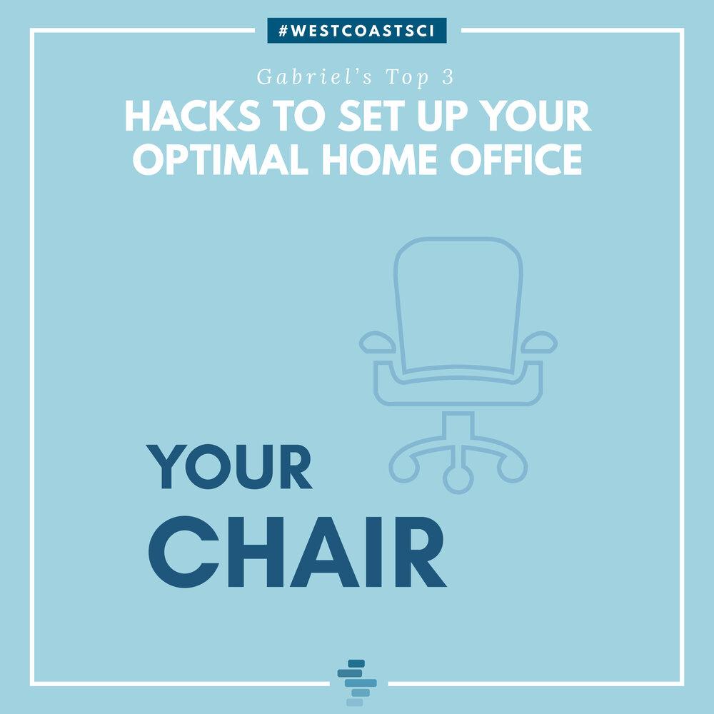 Optimal Chair Setup