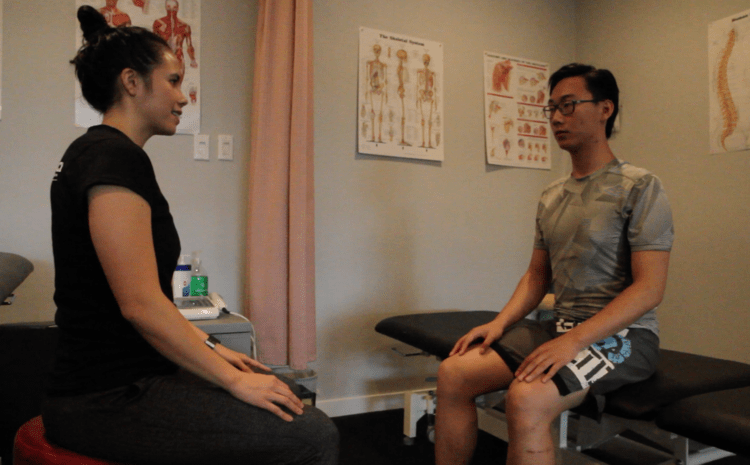 first physio session