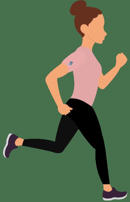 recreational runner