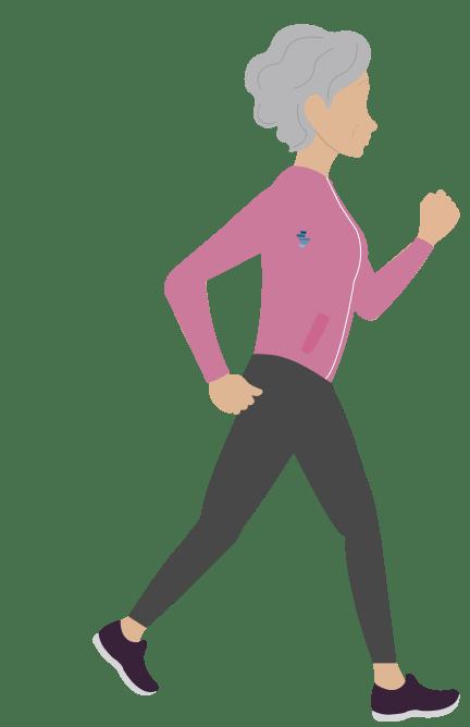 is running safe for elderly?