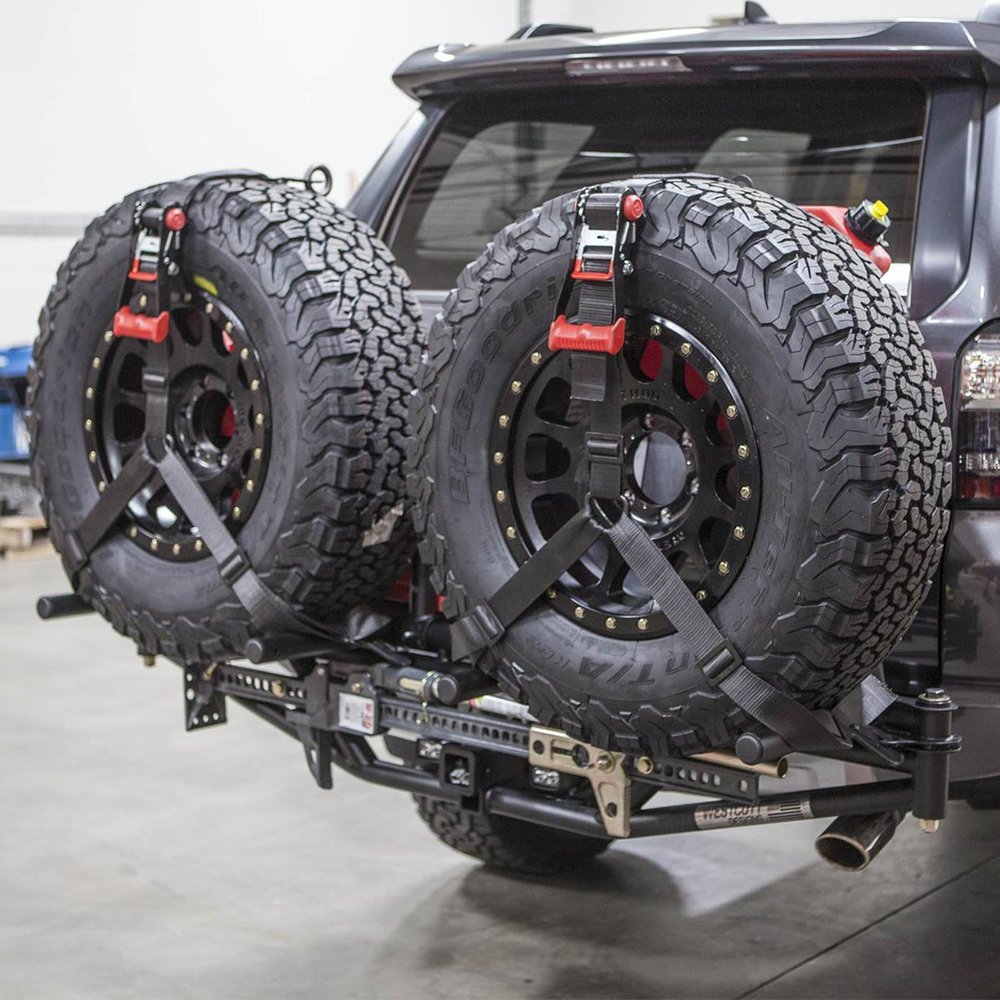 universal hitch mount tire rack