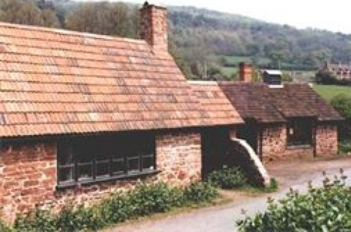 Allerford Forge on the edge of Exmoor in Somerset, the home of West Country Blacksmiths