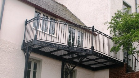 Balcony by West Country Blacksmiths