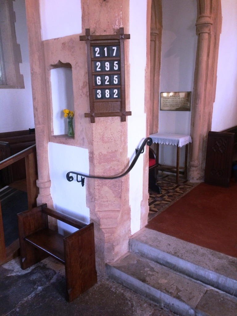 Ash prior church, Taunton - Handrail by West Country Blacksmiths