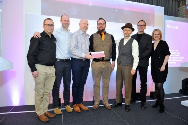 West Country Blacksmiths team receiving an award